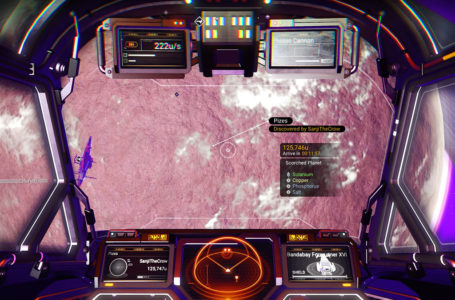 How to find a scorched world in No Man's Sky