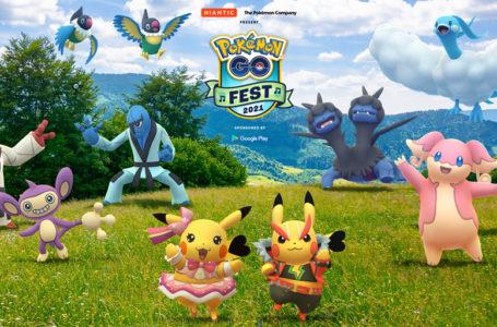 Pokémon Go Fest 2021 features mythical Pokémon Meloetta