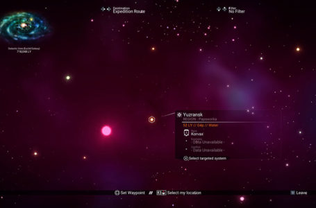Tips to help you discover a new system in No Man's Sky
