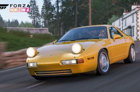 Forza Horizon 4: How to get the 1993 Porsche 928 GTS