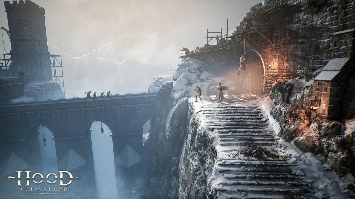 Hood Outlaws Legends mountain map
