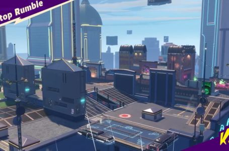 Knockout City: all Heatwave Ice Pop locations on Rooftop Rumble