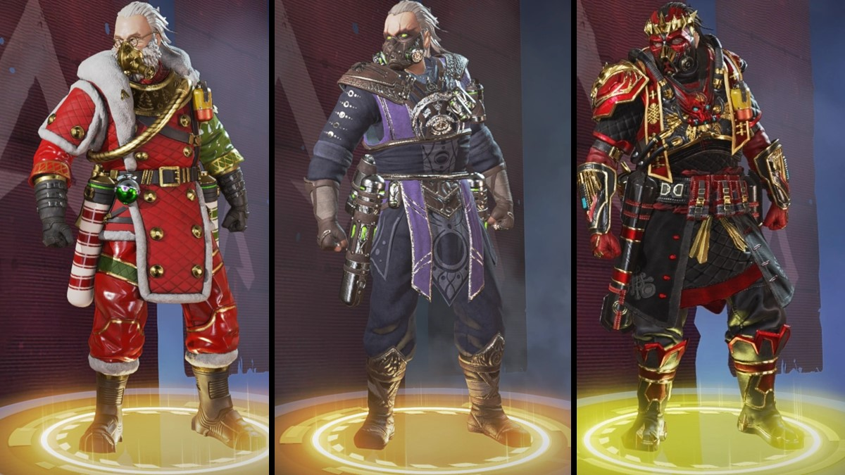 The best corrosive skins