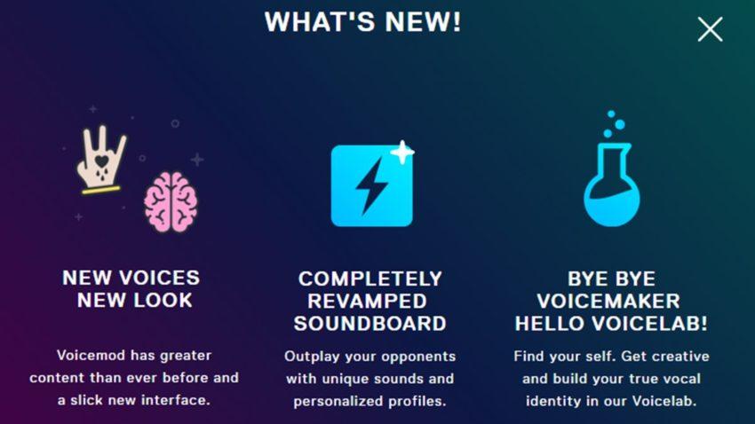 New voice update