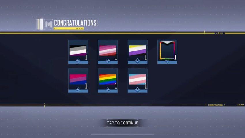 COD Mobile Pride Bundle Rewards