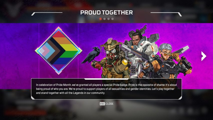 Proud Together statement