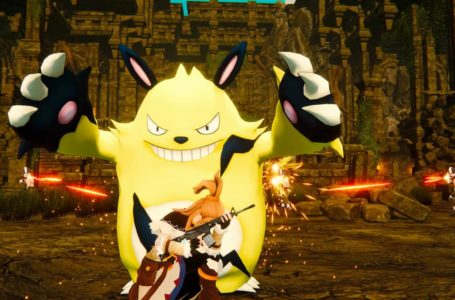 Palworld is a Pokemon-like featuring guns, monster eating, and general animal cruelty