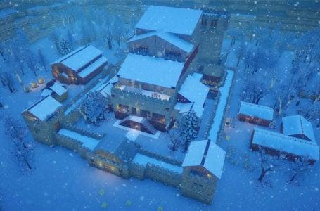 How to build underground storage in Going Medieval