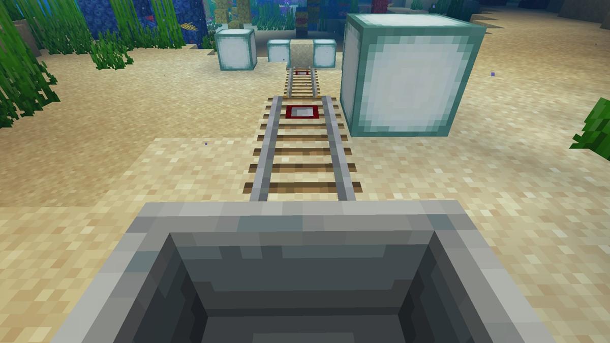 Underwater Minecart