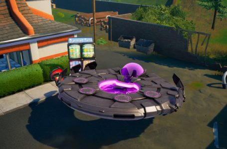 How to enter a UFO in Fortnite Chapter 2 Season 7