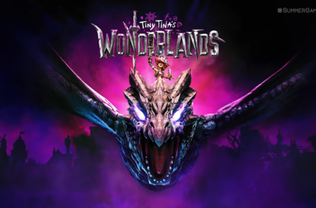 What is the release date of Tiny Tina's Wonderlands?