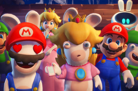 What is the release date of Mario + Rabbids: Sparks of Hope?