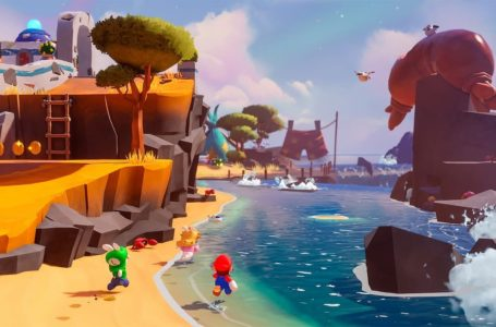 Mario + Rabbids Sparks of Hope gameplay is out of this world