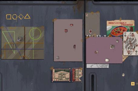 Backbone locker puzzle guide