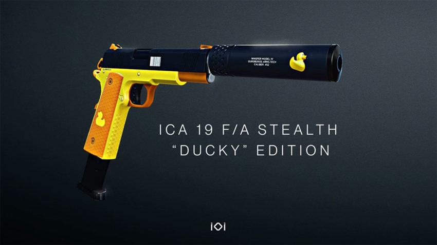 how-to-get-the-ica-19-fa-stealth-ducky-edition-in-hitman-3