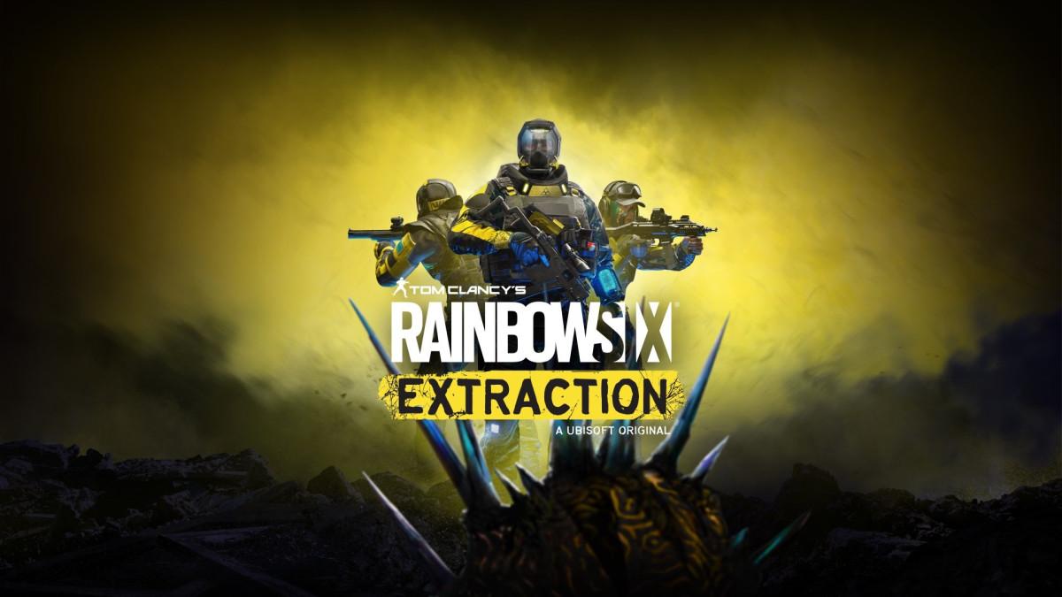 Rainbow Six Extraction keyart
