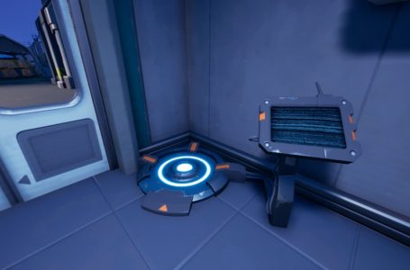 Where to step on a body scanner in Fortnite Chapter 2 Season 7