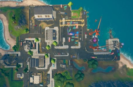 Where to collect spray cans from warehouses in Dirty Docks or garages in Pleasant Park in Fortnite