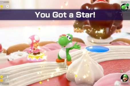 What is the release date of Mario Party Superstars?