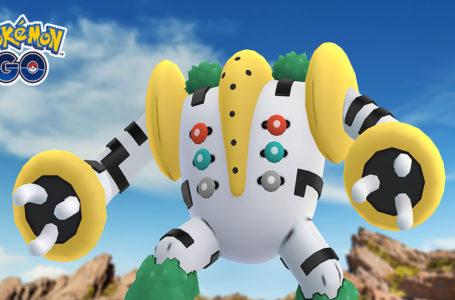 Pokémon Go's solstice-themed event features Regigigas in five-star raids