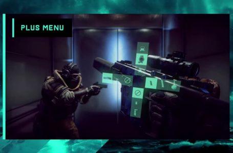 What is the plus menu in Battlefield 2042?
