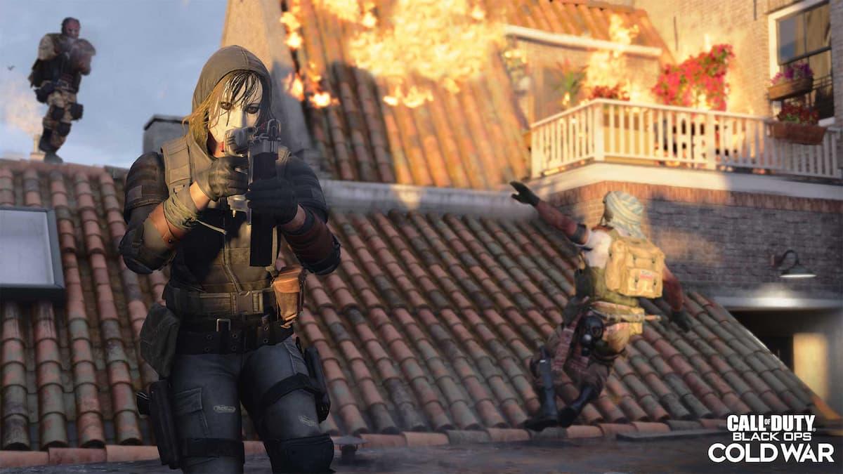 Call of Duty: Black Op Cold War Warzone Nail Gun