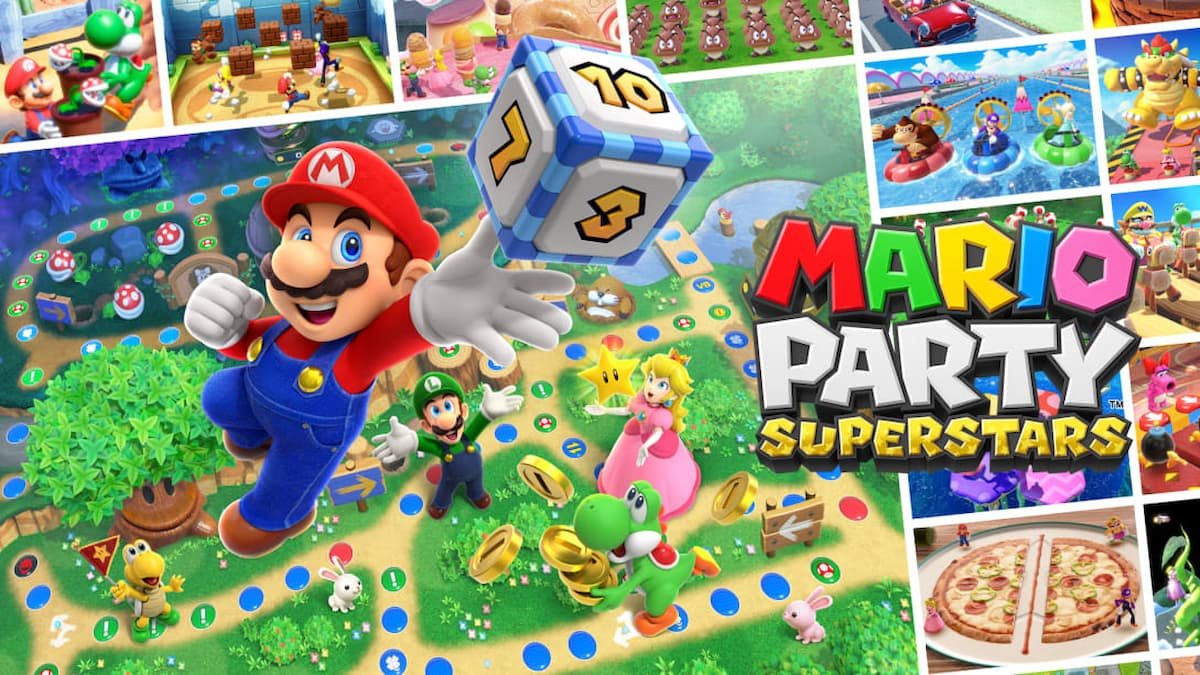 All playable characters in Mario Party Superstars thumbnail