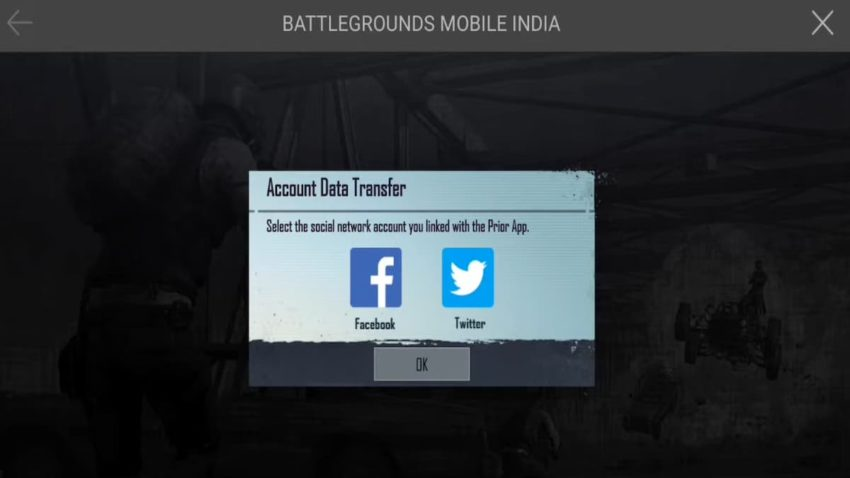 Battlegrounds Mobile India BGMI Account Data Transfer Guide
