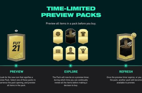 FIFA 21: How do Preview Packs work