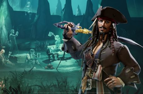 Who voices Captain Jack Sparrow in Sea of Thieves: A Pirate's Life?