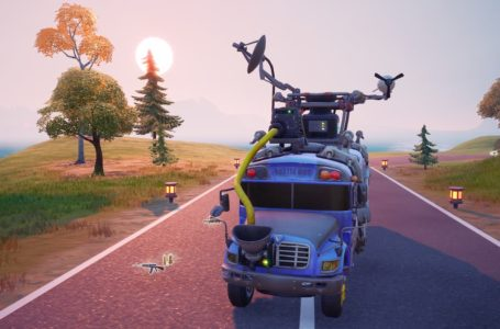 How to tip the bus driver in Fortnite Chapter 2 Season 7