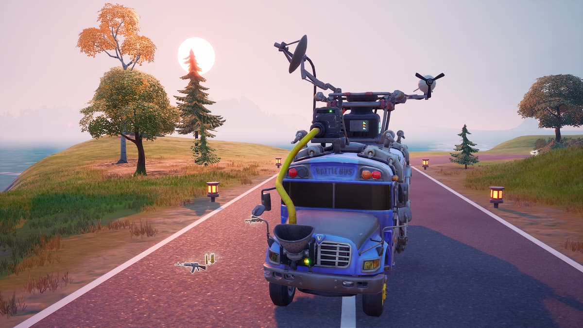 What Is The Point Of Thanking Of Bus Driver Fortnite How To Tip The Bus Driver In Fortnite Chapter 2 Season 7 Gamepur
