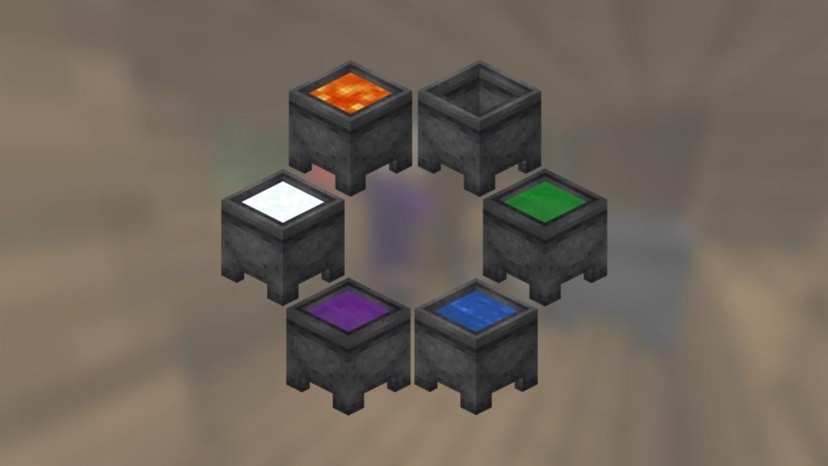 All Minecraft Cauldrons