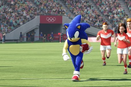Can you play as Sonic in Olympic Games Tokyo 2020: The Official Video Game?