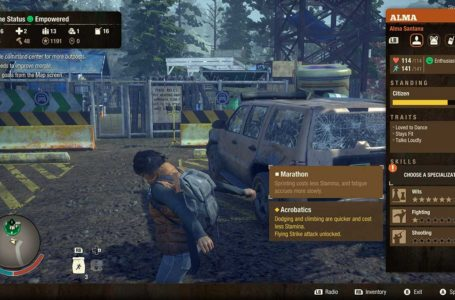 How to specialize a character in State of Decay 2