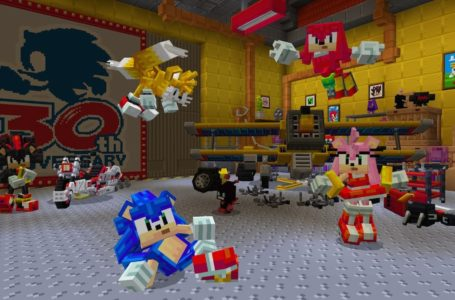 Minecraft and Sonic come together in new DLC