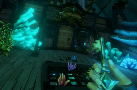 How to get the Silver Blade Key in Sea of Thieves: A Pirate's Life