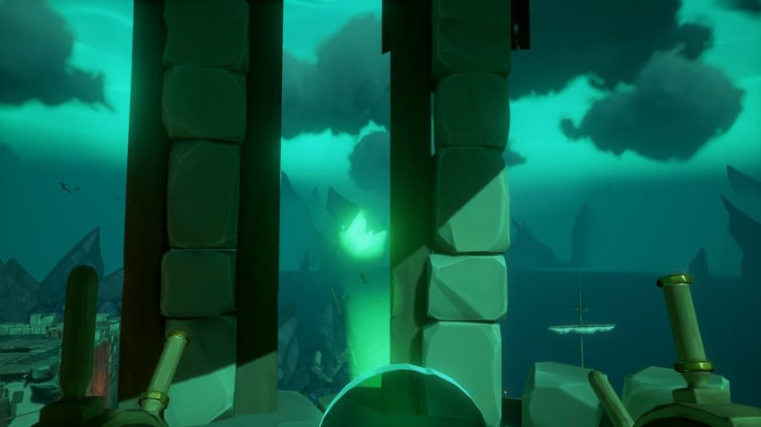 Sea of Thieves: A Pirate's Life – Captains of the Damned Tall Tale Lighthouse beacon