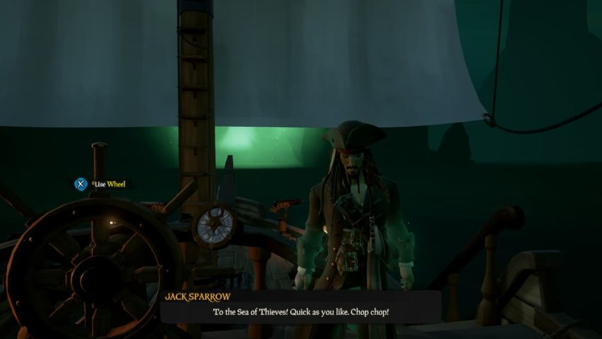 Sea of Thieves Captains of the Damned Tall Tale