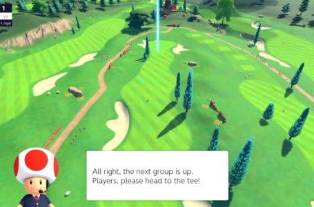 How to unlock courses in Mario Golf: Super Rush