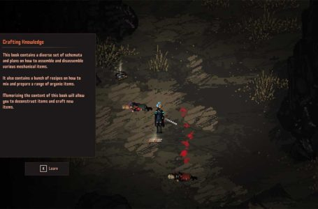 How to deconstruct items in Death Trash
