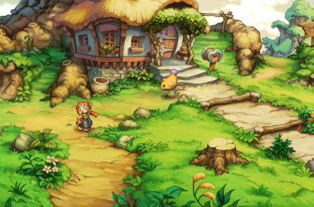 The best starting map location in Legend of Mana