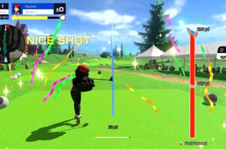 How to curve your shot in Mario Golf: Super Rush