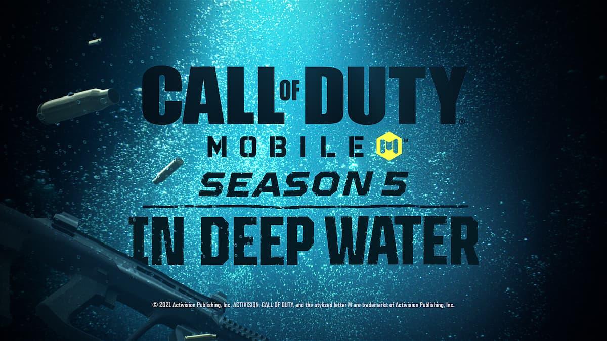COD Mobile Season 5 APK OBB Download Link