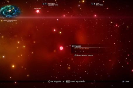How to visit a red star system in No Man's Sky