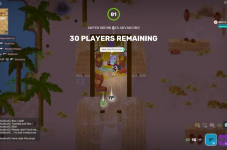 How to complete The First Super Skullcat story milestone in Super Animal Royale