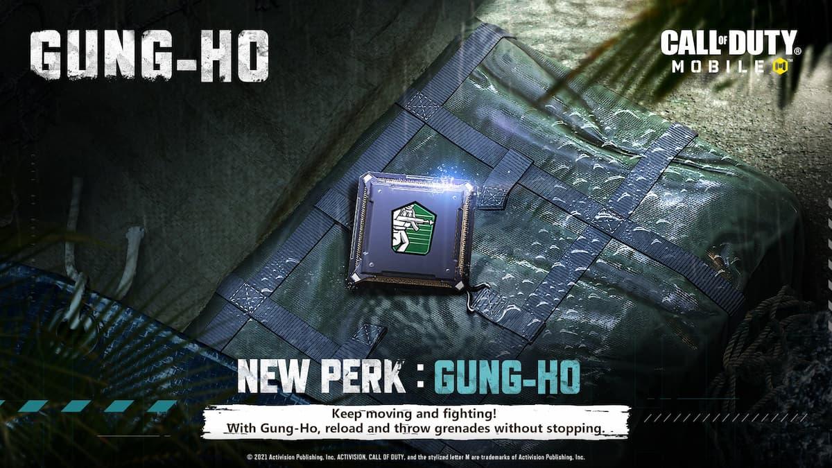 How to get COD Mobile Season 5 Gung-Ho Green Perk