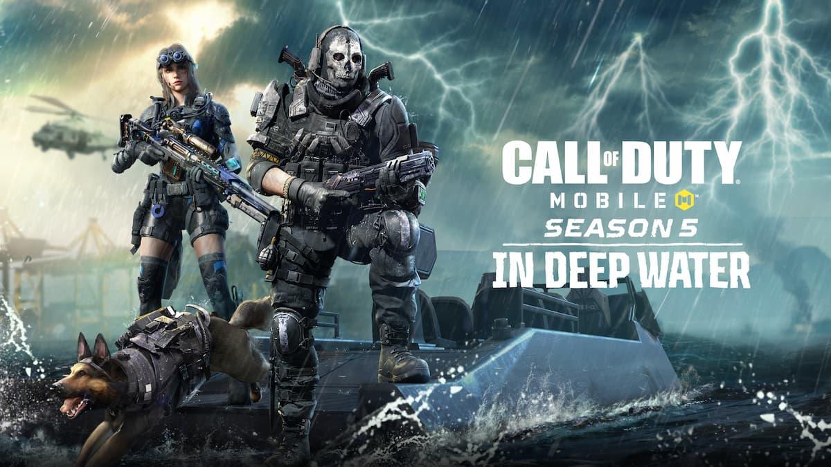 COD Mobile Season 5 Battle Pass Free and Premium Rewards