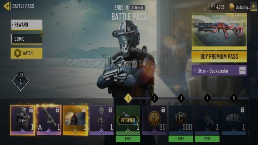 COD Mobile Season 5 Battle Pass Free Premium Rewards