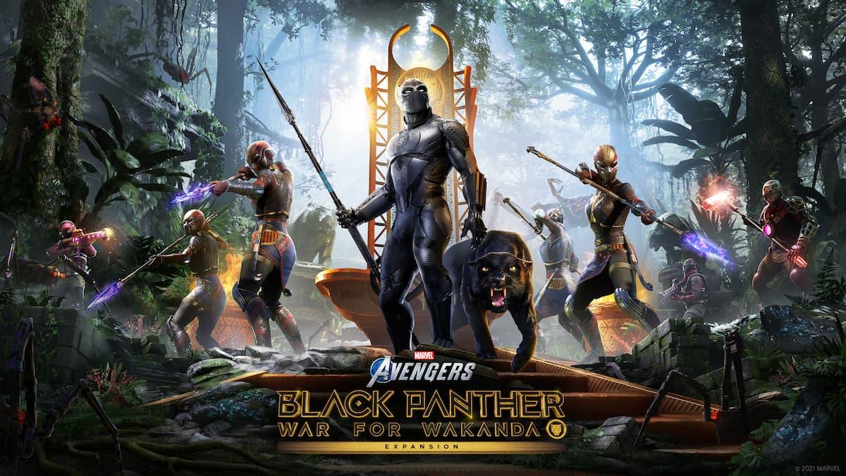 Marvel's Avengers Black Panther War for Wakanda